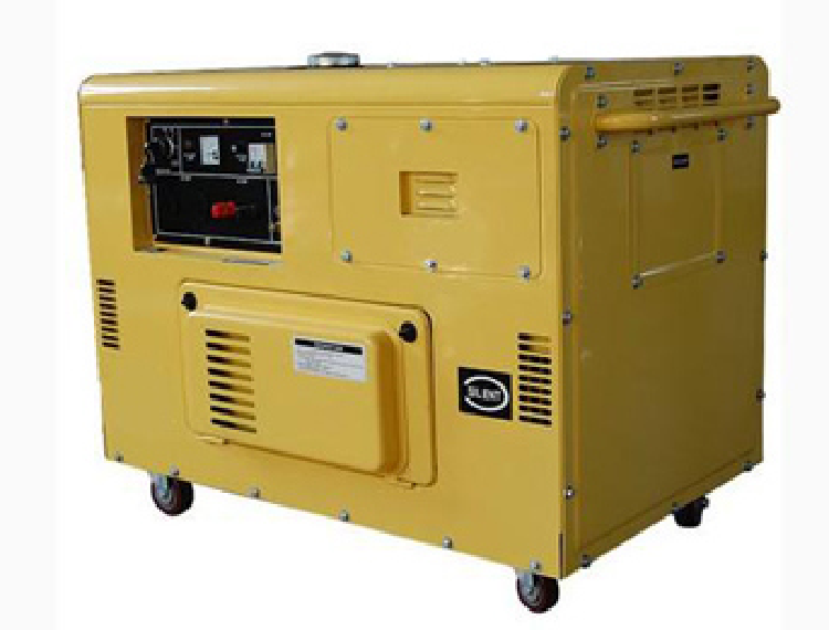 8.5kVA Single Phase Silent Type Portable Diesel Generators (ZDE12T)
