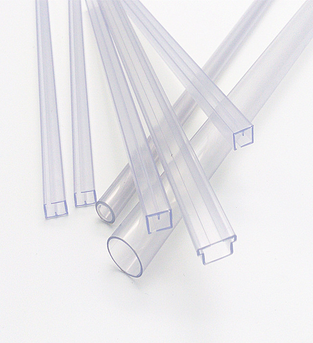 clear plastic tube packaging