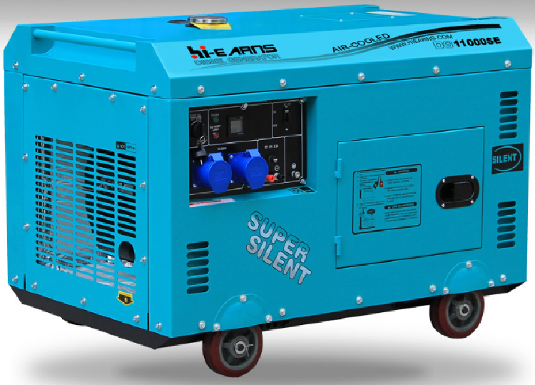 8.0kw Diesel Silent portable Generator Set (DG11000SE 8.0KW)