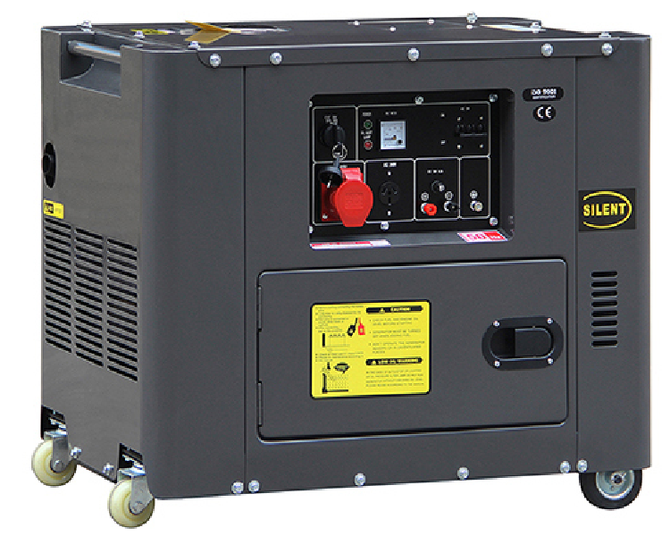 5kw Silent Diesel Engine Power Generator (DG6500SE)