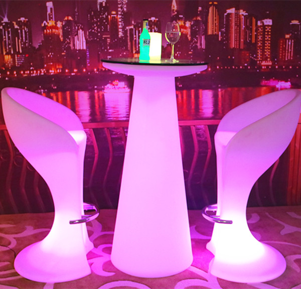 Hot selling outdoor led sectional sofas corner sofa sectional led bar table/nightclub/led furniture