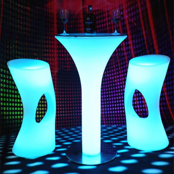 bar stools party led high bar table and coffee chair bar furniture