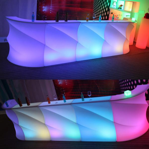 led bar counter led furniture