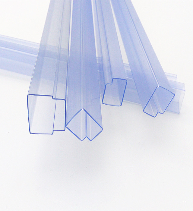 transparent plastic packaging tube