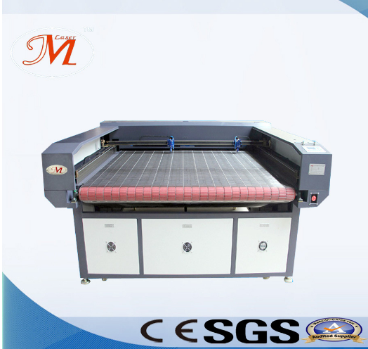 Popular Automatic Feeding Laser Router with Wide Net Cutting Table (JM-1812T-AT)