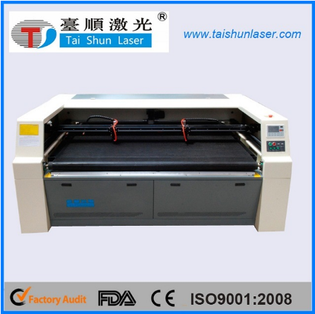 Denim Fabric Pattern Laser Engraving Machine with Dual Head