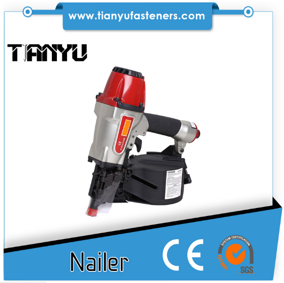 Pneumatic Pallet Making Coil Nailer Cn55