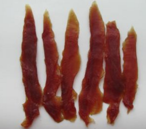 Dog Treat - Dry Duck Jerky with BSCI Certificate