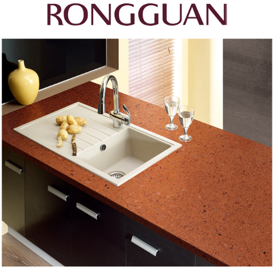 Best Big Slab Double Color Texture Quartz Countertops - buying leads