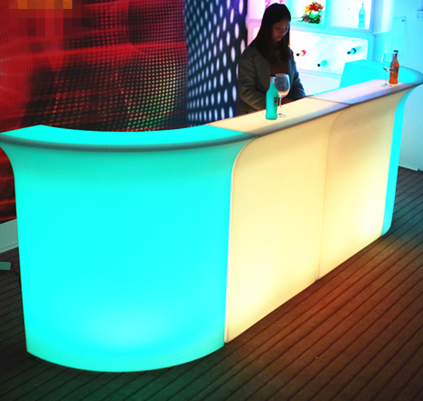 party event luminous led modern bar furniture