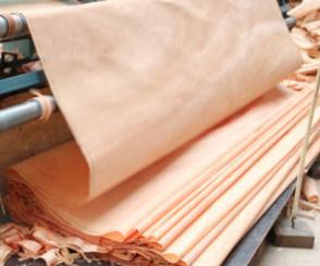 Factory-Rotary Cut Type Natural Okoume Veneer for Door Skin in 0.50mm