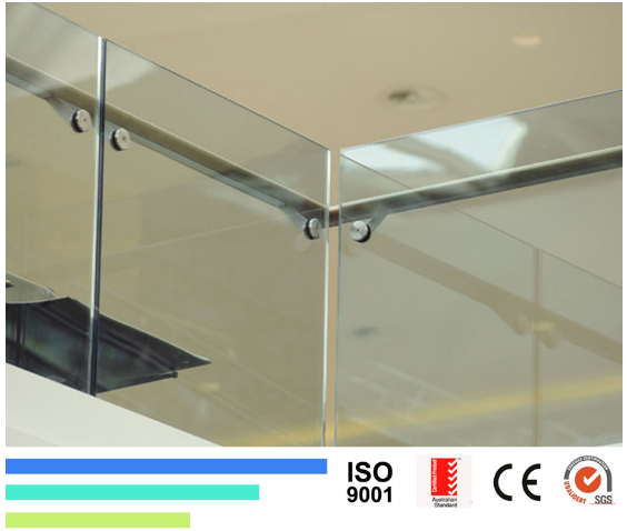 10mm Clear Tempered Safety Glass for Shower Door