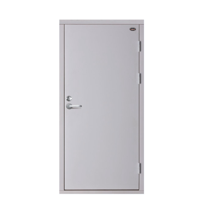 wood fire rate door