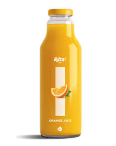 280ml Glass Bottle Orange Juice
