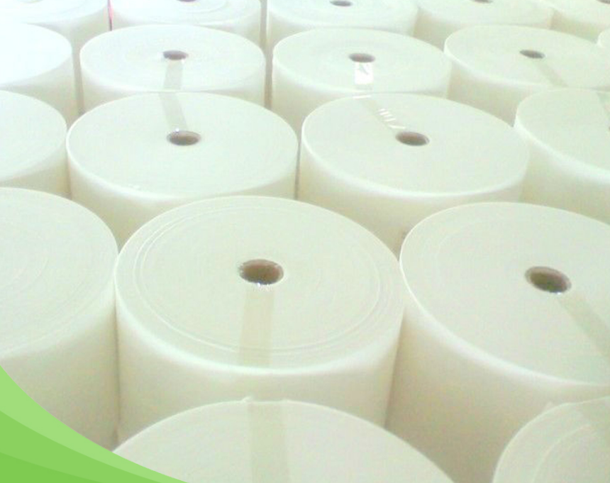 Baby Wet Wipes Raw Materials Soft 48gsm Spunlace Nonwoven