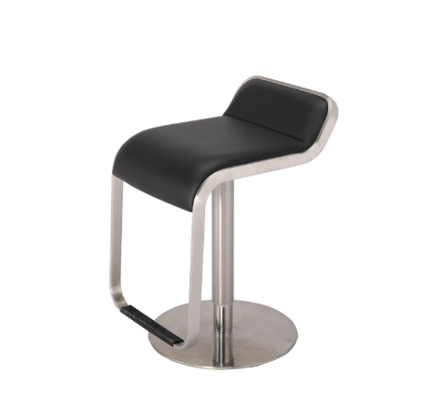 Stainless Steel High Chair Adjustable Bar Stool