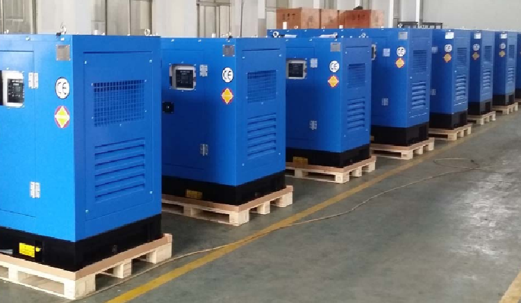 20kw/25kVA Silent Diesel Generator Set with Yangdong 490d Diesel Engine
