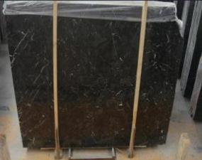Polished/Honed/Bushhammered/Customized/Dark Emperador Marble Slab for Flooring/Wall Tile/Countertop/Kitchentop