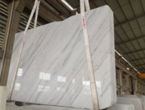 Guangxi White Marble Tiles, Slab, Countertop