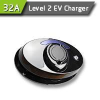 Wall Mounted 32A EV Charging Station For EV Charging