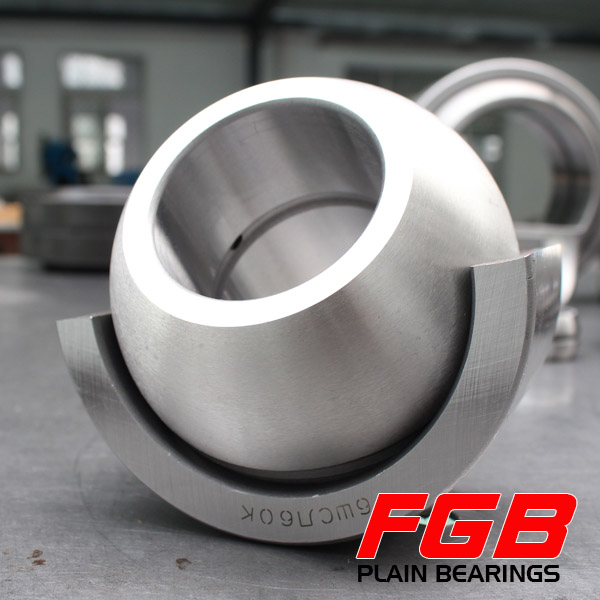 FGB Slide Bearings GE80LO GE80HO-2RS Bearings Spherical Plain SKF