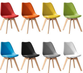Eames Dsw Chair/Dining Chair in Different Colors