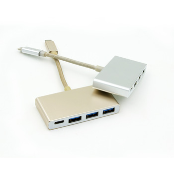 Type C usb hub,4 in 1 USB 3.0 usb adapter