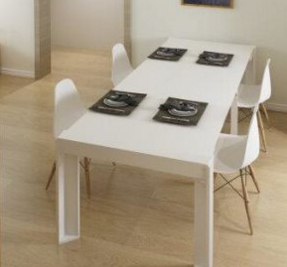 Stretching Table Foldable Dining Room Furniture