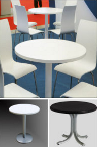 Latest Designs of Dining Table High Glossy Restaurant Table