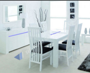 Customized Artificial Marble Stone Dining Table Home Desk Furniture
