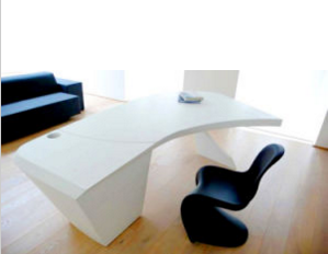 Corian Solid Surface Furniture Office Table