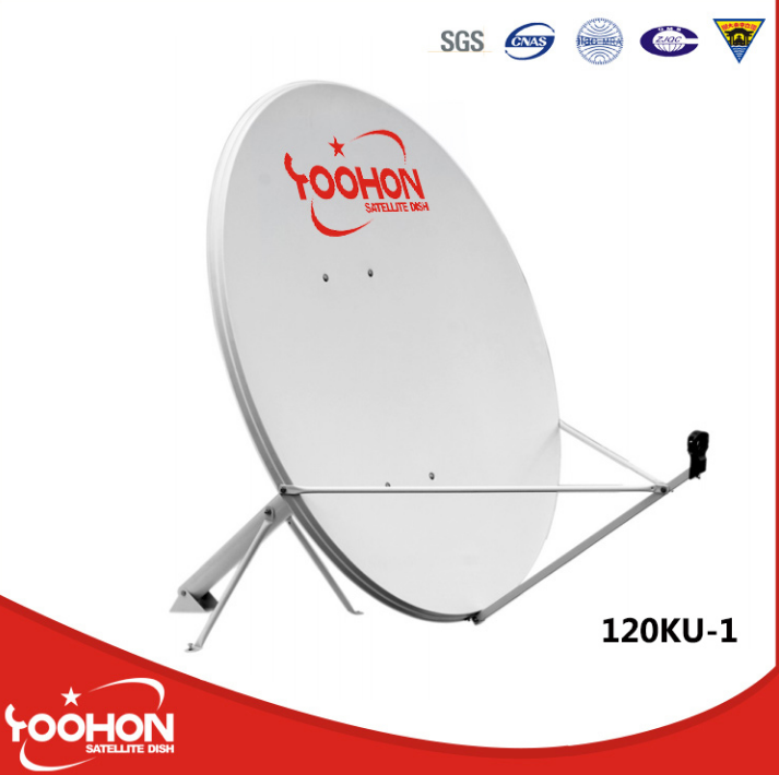 1.2m C/Ku Band Satellite Dish Antenna with CE