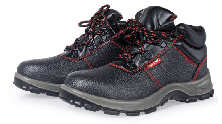 Stylish Brand Good Prices Steel Toe Industrial Deltaplus Safety Shoes