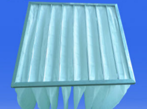 Air Conditioning Ventilation System Dust Holding Bag Filters for Industry