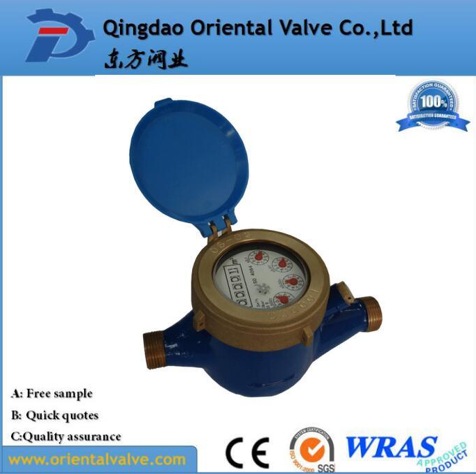 15mm Cast Iron Water Meter for Cold Water