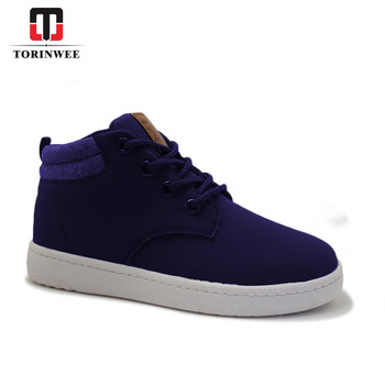 PU upper PVC outsole High Top Casual skate boys shoes- buying leads