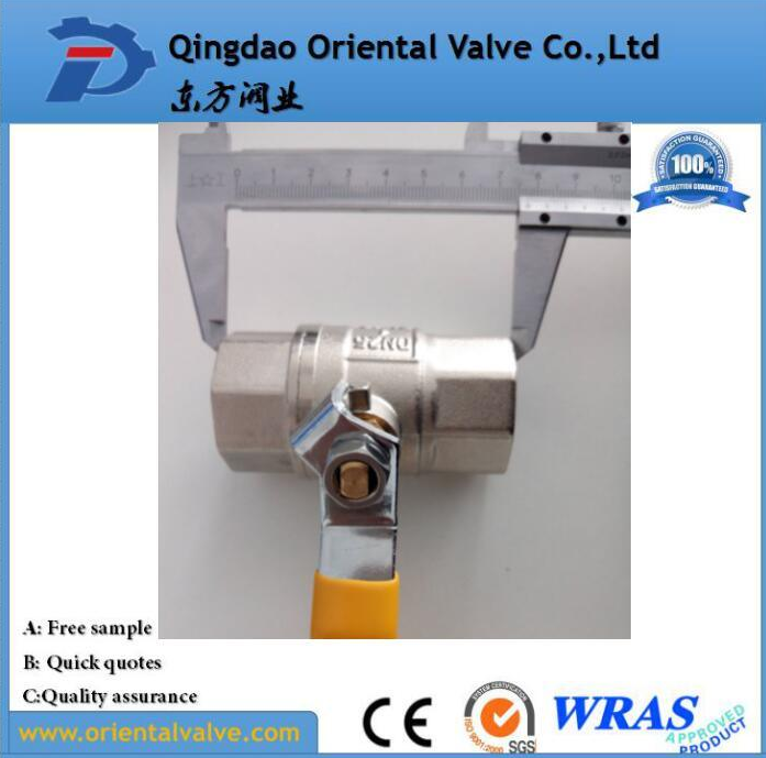 Low Price Brass Ball Valve (With CE)