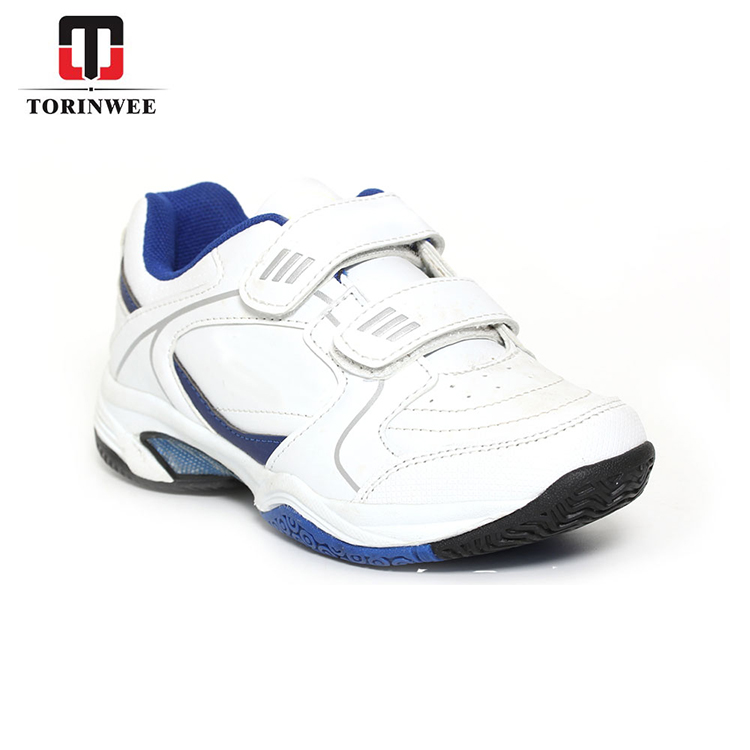 White PU Strap Training Tennis Shoes