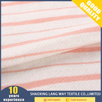 most people love high density polyester stripe terry cloth fabric wholesale