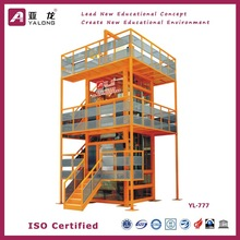Elevator Installation Education Equipmen ,Elevator Repair Teaching equipment , Intelligent Building Teaching Platform