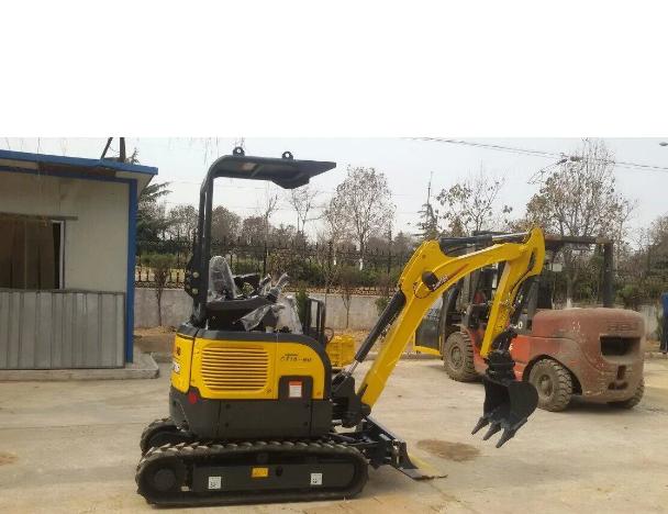 CT16-9bp (Canopy&zero tail) Backhoe Crawler Mini Excavator