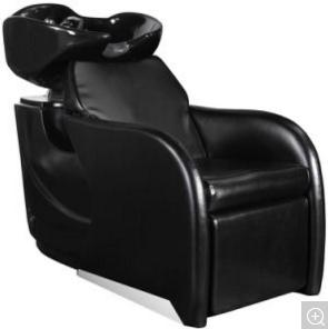 Shampoo Unit Stitching Diamond Washing Chair 2 Hard Bases