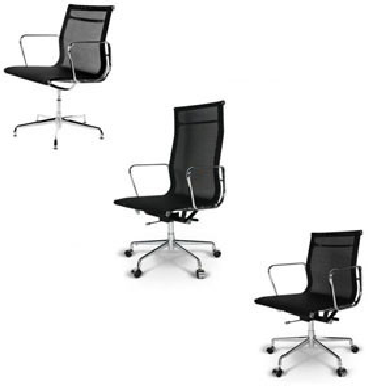 Hot Selling Black Mesh Swivel Eames Office Chair (GV-EA117 mesh)
