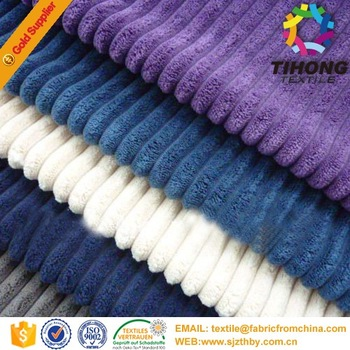 18W cotton corduroy fabric for garment