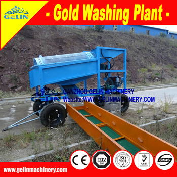 Placer gold ore washing equipment