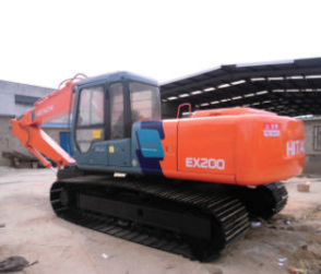 Used Hitachi Crawler Hydraulic Excavator (EX200) -Made in Japan