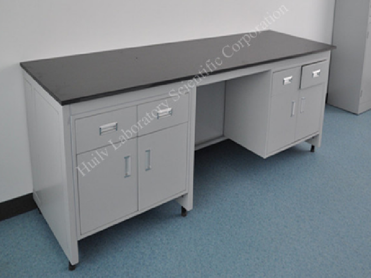 Guangzhou Laboratory Steel Hospital Work Bench with Drawer