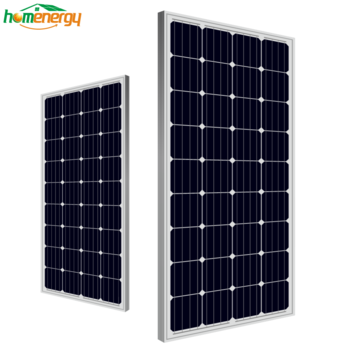 High efficiency solar panel mono 150w for home use solar system made in China