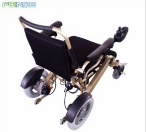 High Quality Electric Folding Wheelchair