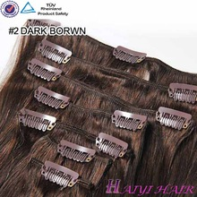 Brazilian Hair Wholesale Clip In Human Hair Extensions